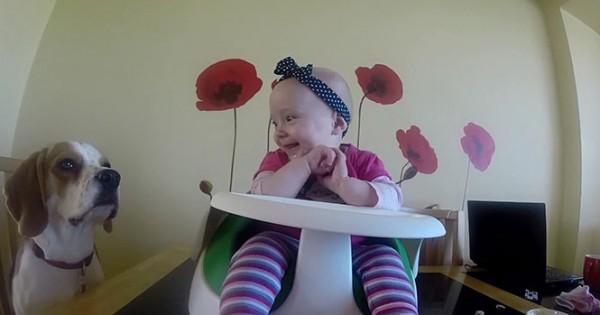 Η πιο γλυκιά babysitter στον κόσμο (Video)
