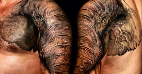 Εντυπωσιακά τατουάζ μόνο για φιλόζωους