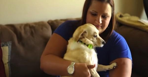 Άντρας βρίσκει και σώζει σκύλο με ειδικές ανάγκες καθώς κι ο ίδιος βρίσκεται σε ανάλογη θέση! (Βίντεο)