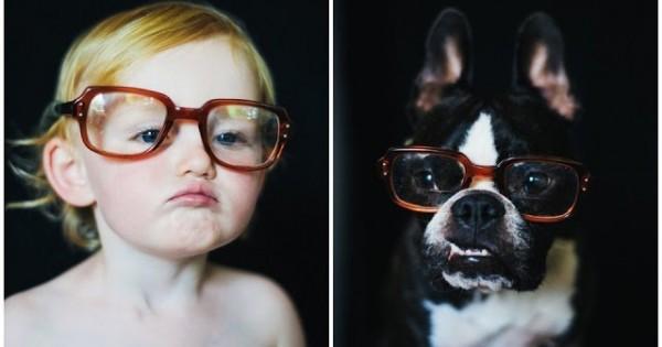 Ένα μωρό και ένας σκύλος: Ποιος το κάνει καλύτερα; (Εικόνες)