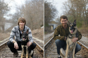 Σύντροφοι για μια ζωή – Φωτογραφίες ανθρώπων με τον καλύτερό τους φίλο, τότε & τώρα