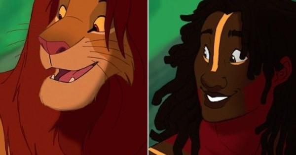 Δείτε πώς θα ήταν τα ζωάκια της Disney σαν άνθρωποι! (Βίντεο)