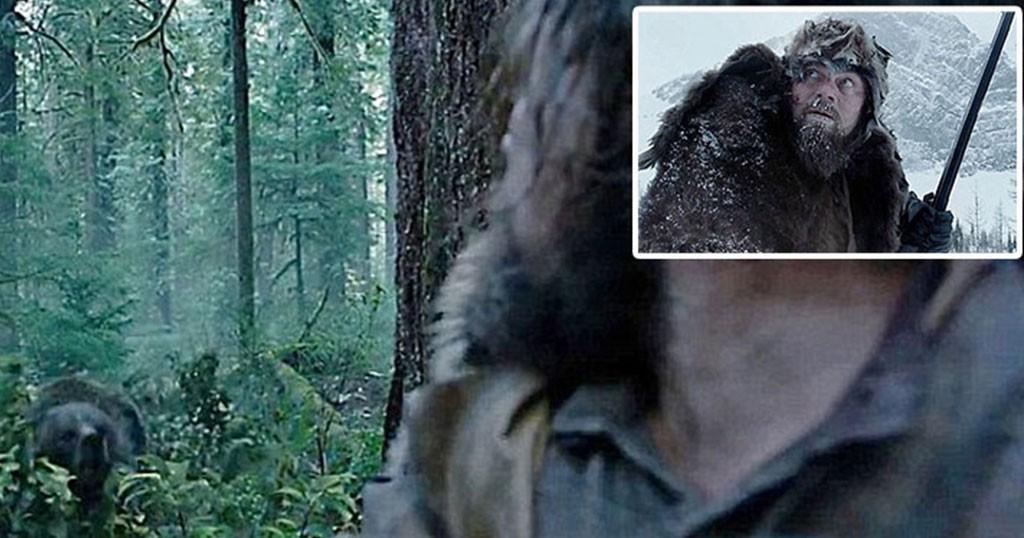 Αρκούδα «ασελγεί» δυο φορές στον Λεονάρντο Ντι Κάπριο στην νέα του ταινία. (Βίντεο)