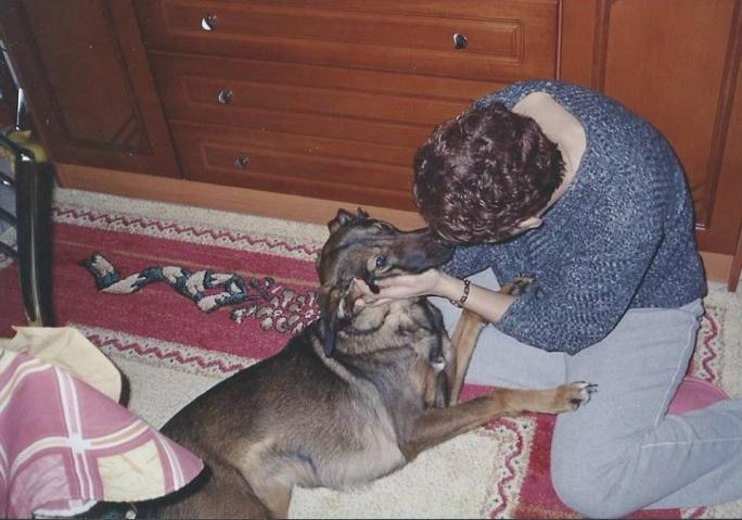 σκύλος και άνθρωπος