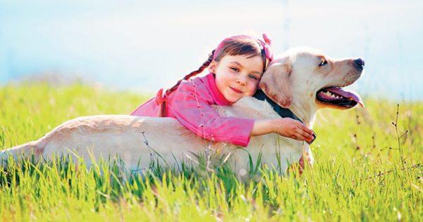 Μάθετε τα παιδιά να αγαπάνε τα ζώα και τα οφέλη θα είναι πολλά