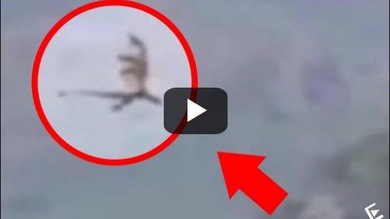 Είναι αυτό το πλάσμα που πετά πάνω από τα βουνά της Κίνας ένας δράκος; Το βίντεο που προκάλεσε καυγάδες