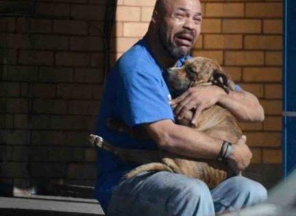 Ο σκύλος του πέθανε στην αγκαλιά του και το σπαρακτικό του κλάμα κανει το γύρο του κόσμου