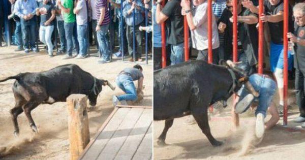 Πώς ένας δάσκαλος απέδειξε στους μαθητές του ότι οι ταύροι δεν επιτίθενται αν δεν τους επιτεθείς (βίντεο)