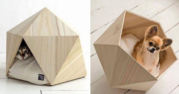 Πανέμορφα γεωμετρικά σπιτάκια για το κατοικίδιό σας