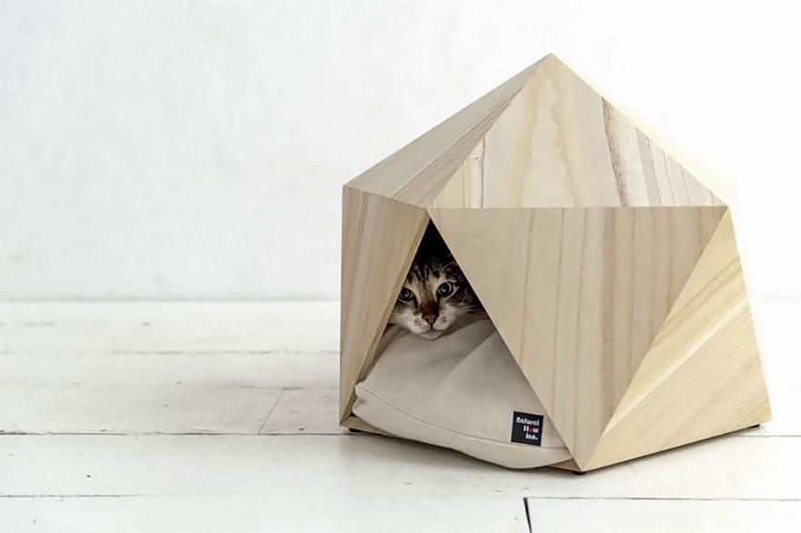 Σκύλος Πανέμορφα γεωμετρικά σπιτάκια για το κατοικίδιό σας κατοικίδιο γεωμετρικά σπιτάκια για το κατοικίδιό σας