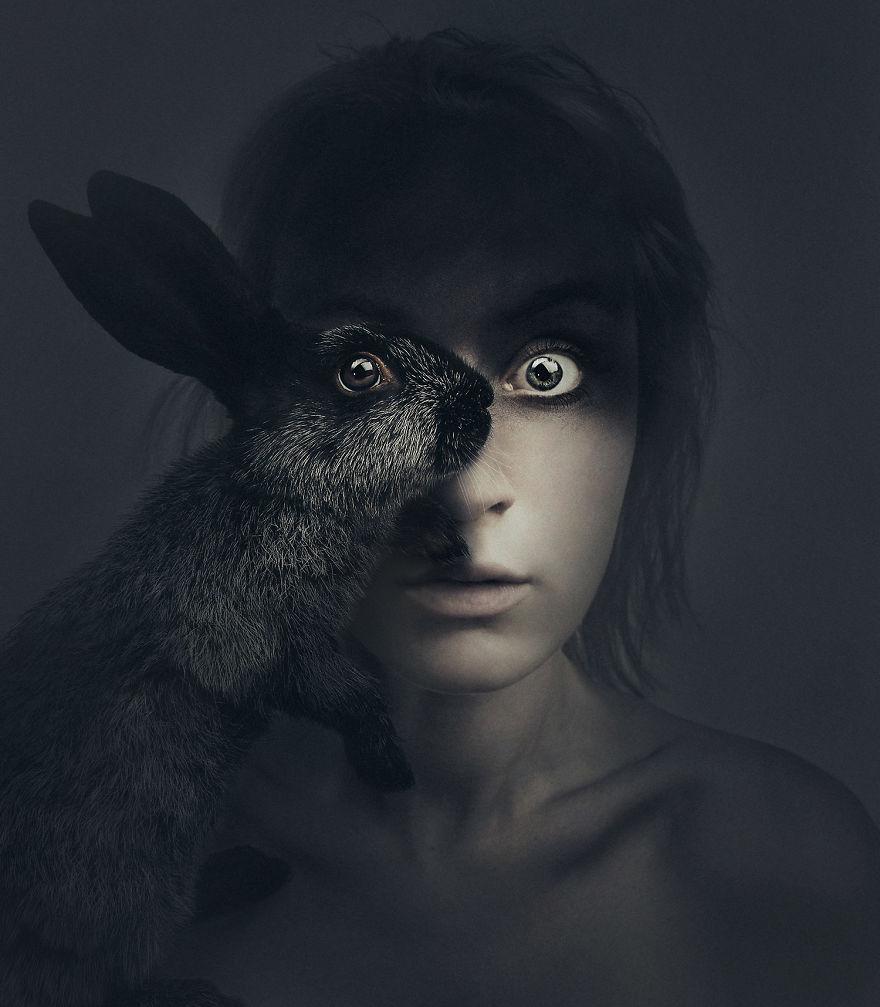 Ουγγαρέζα φωτογράφος γίνεται ένα με τα ζώα στις φωτογραφίες της ζώα γίνεται ένα με τα ζώα στις φωτογραφίες