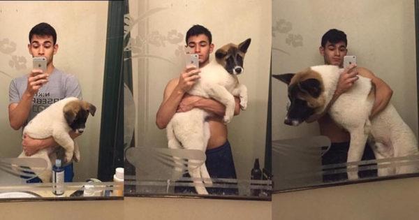 Τότε και τώρα: 24 υπέροχες φωτογραφίες με κουτάβια που μεγάλωσαν και έγιναν ολόκληροι σκύλοι!