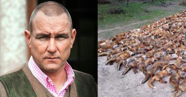 Διάσημος Βρετανός ηθοποιός και πρώην ποδοσφαιριστής σκότωσε 100 αλεπούδες