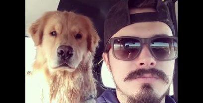 Τρελό γέλιο: Ο σκύλος που μιμείται το αφεντικό του