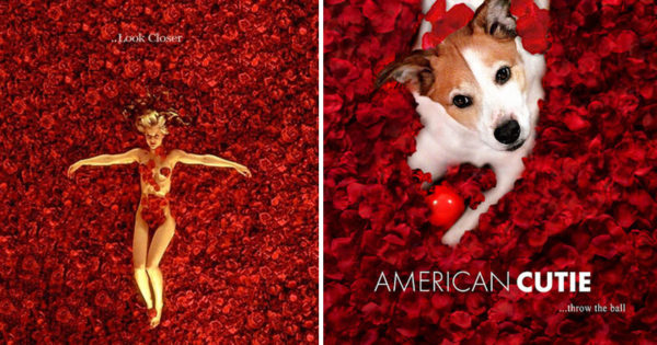 Έκανε photoshop σε αφήσες γνωστών ταινιών βάζοντας σε αυτές τον σκύλο του