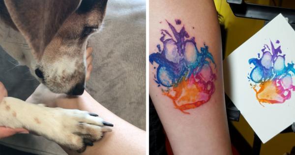 20 Cool τύποι που έκαναν τατουάζ τις πατούσες των σκύλων τους!