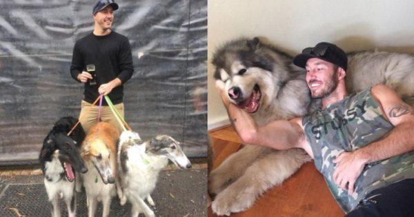 Ένας Αυστραλός έχει βάλει σκοπό της ζωής του να σώσει όλα τα σκυλάκια του πλανήτη