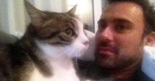 Τα συγκινητικά λόγια του Γιώργου Καπουτζίδη για τη γάτα του που πέθανε