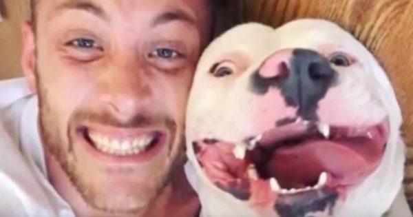 Ανέβασε αυτήν την φωτογραφία με τον σκύλο του στο Facebook και κάποιος κάλεσε την Αστυνομία