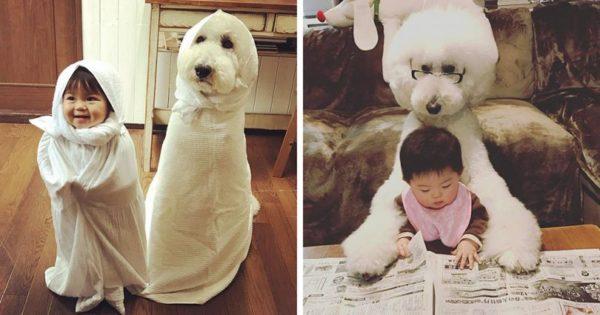 Αυτή η μικρούλα από την Ιαπωνία μαζί με τον σκύλο της θα σας φτιάξουν την μέρα