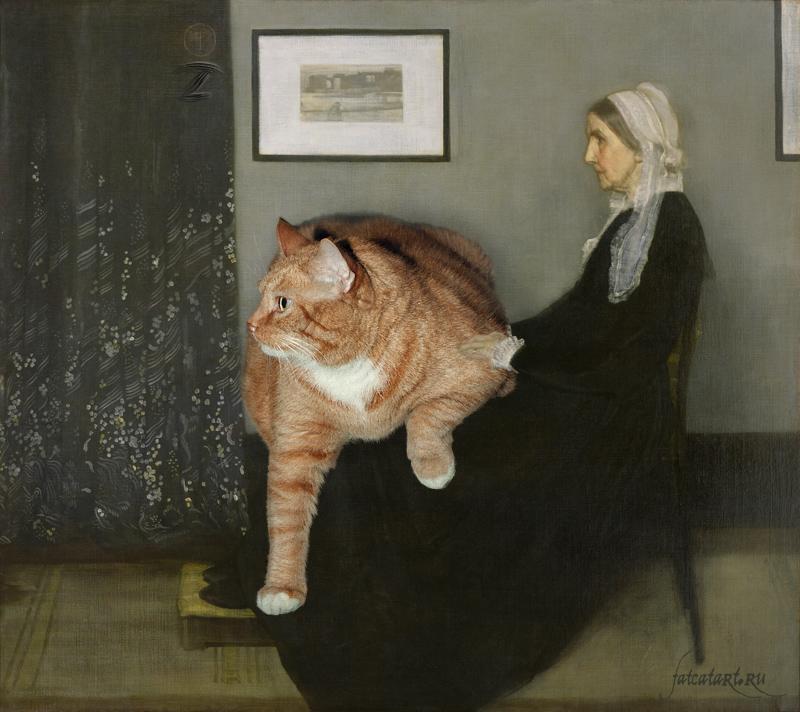 γάτα έργα τέχνης Γάτα