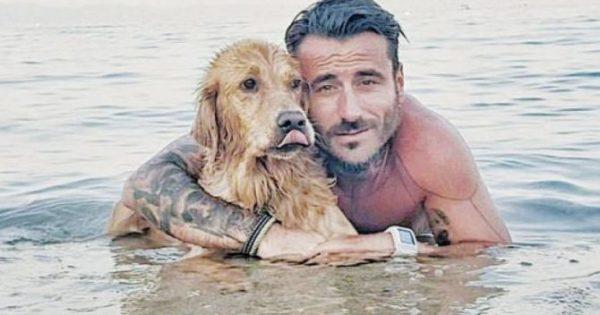 Γιώργος Μαυρίδης: Η απάντηση σε όσους δεν θέλουν τα σκυλιά στην θάλασσα (ΦΩΤΟ)