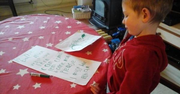 Θα σας κάνει να δακρύσετε: 4χρονο αγοράκι έγραψε γράμμα σε αυτούς που έκλεψαν το σκυλί του!