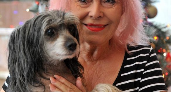 Δαπανά 28 χιλιάδες λίρες για να φροντίζει αδέσποτα σκυλάκια στο σπίτι της