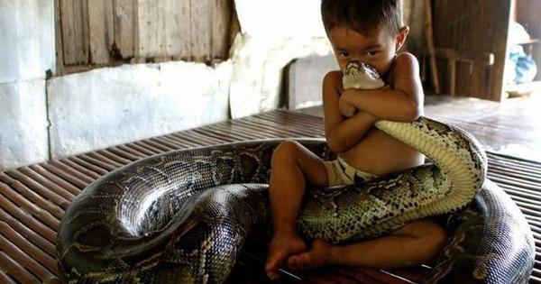 22 επικές φωτογραφίες με παιδιά και τους καλύτερούς τους φίλους που είναι ζώα. (Εικόνες)