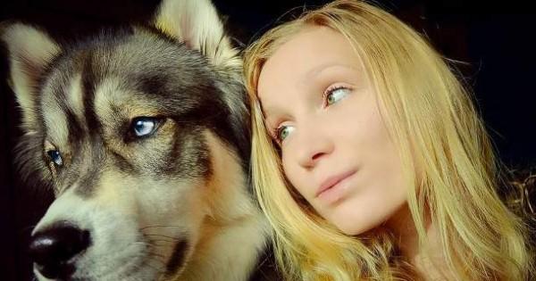 Ο σκύλος την έσωσε από τη βία του συντρόφου της -Μια απίστευτη ιστορία [εικόνες]