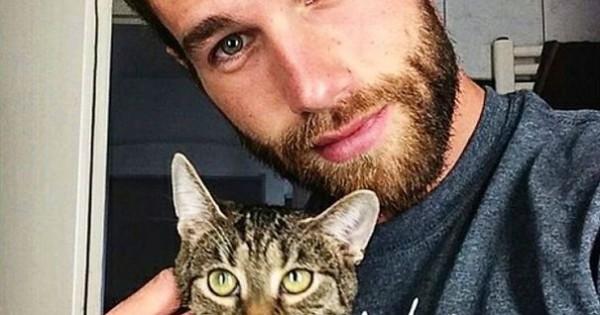 Όμορφοι άντρες και μικρά γατάκια «γκρεμίζουν» το instagram! (Εικόνες)