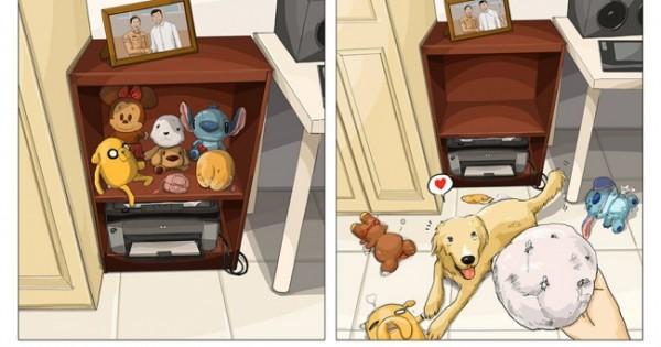 H ζωή σου πριν και αφού αποκτήσεις σκύλο! (Εικόνες)