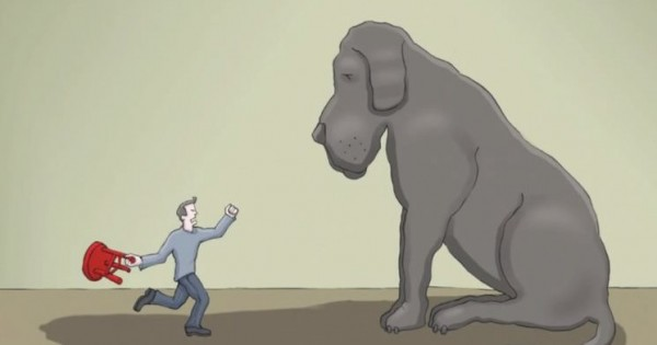 Τι είναι η κατάθλιψη; Αυτό το βίντεο με πρωταγωνιστή ένα σκύλο το εξηγεί με τον καλύτερο τρόπο (Βίντεο)
