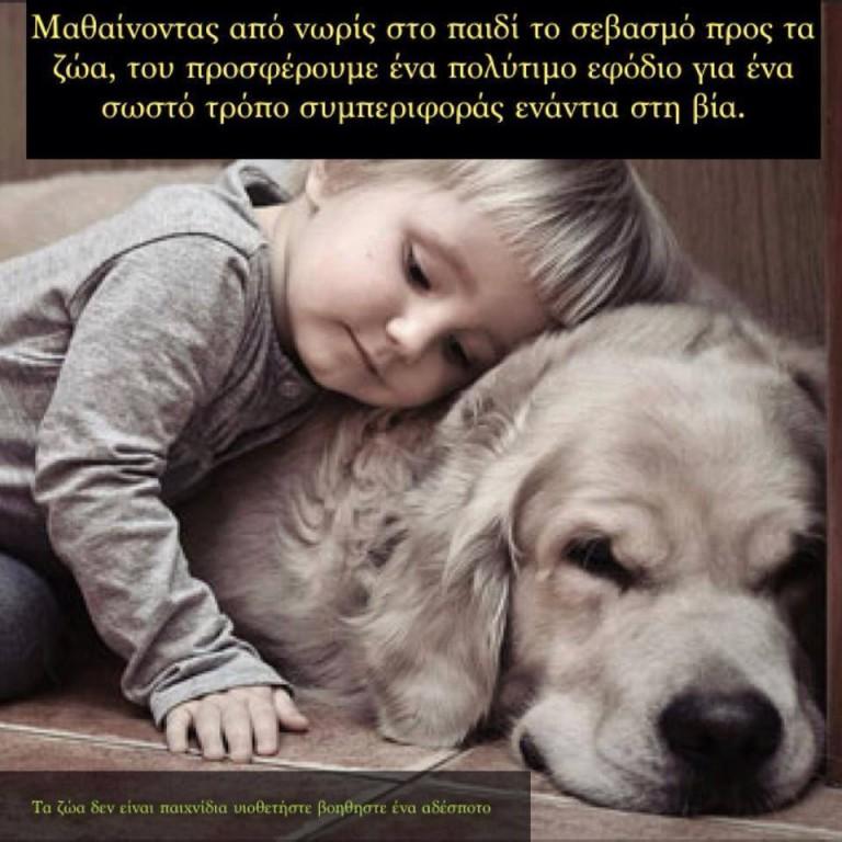 ζώα Kids Against Animal Cruelty