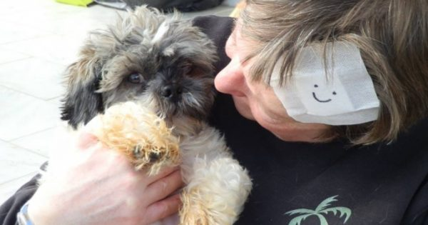 Γερμανίδα εθελόντρια κτηνίατρος υιοθέτησε ένα ανάπηρο σκυλάκι από τη Βέροια Ημαθίας