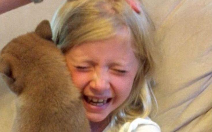 σκύλοι κορίτσι