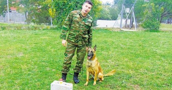 Σκύλος που μυρίζει τον καρκίνο εκπαιδεύτηκε από Έλληνες αξιωματικούς!