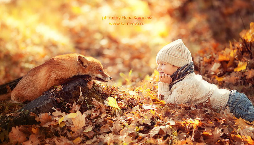 φωτογραφίες παιδιά ζωάκια