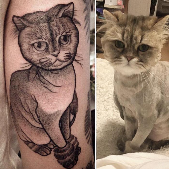 τατουάζ κατοικίδια