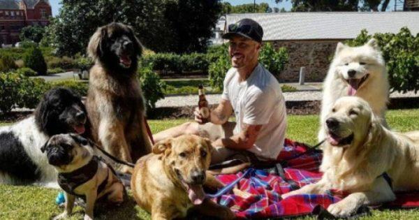 Ένας Αυστραλός έχει βάλει ως σκοπό της ζωής του να σώσει όλα τα σκυλάκια του πλανήτη