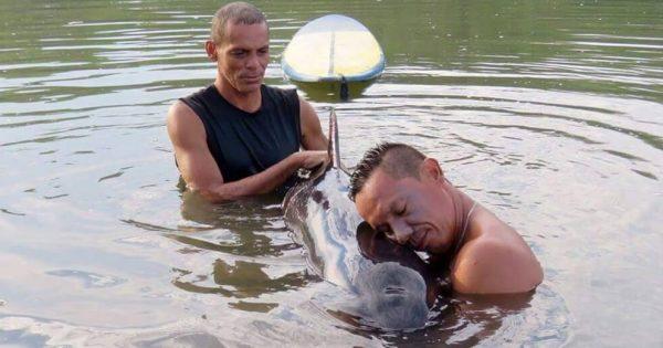 Άκουσαν ένα μωρό φάλαινας να κλαίει και έτρεξαν αμέσως να το βοηθήσουν. Αυτό που συνέβη στη συνέχεια, θα σας συγκλονίσει!