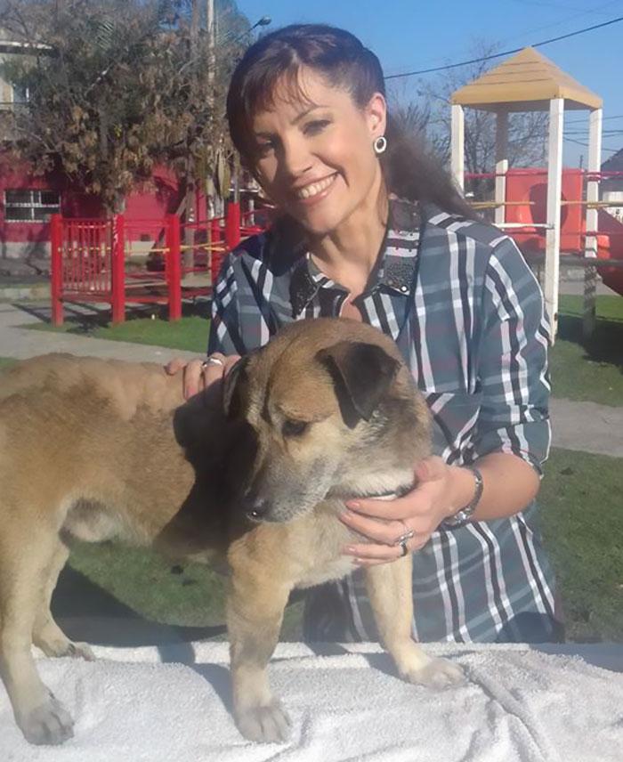 Σκύλος σκύλοι σκύλο Δυο παιδιά σώζουν έναν σκύλο καλλυμένο με πίσα δείτε τον πως είναι τώρα!