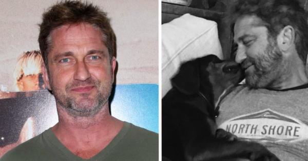 Ο Τζέραρντ Μπάτλερ υιοθέτησε αδέσποτο σκύλο που συνάντησε τυχαία στη Βουλγαρία και τώρα τον αγαπάμε λιγάκι περισσότερο