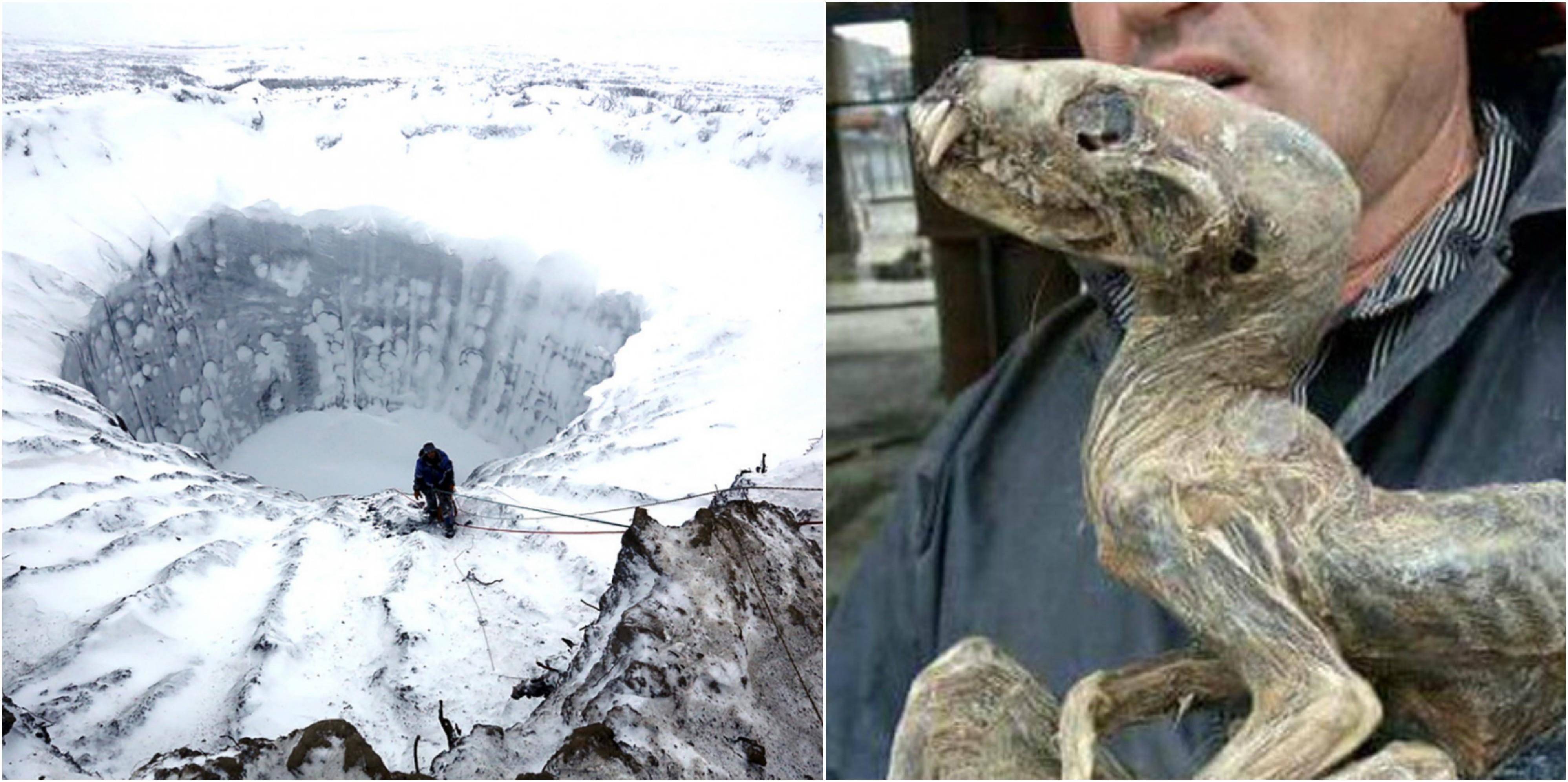 Σιβηρία πάγοι λιώσιμο πάγων