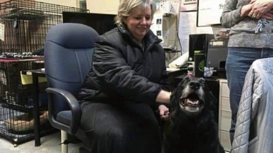 Σκύλος που είχε χαθεί επέστρεψε στην οικογένειά του 10 χρόνια μετά (φωτο)